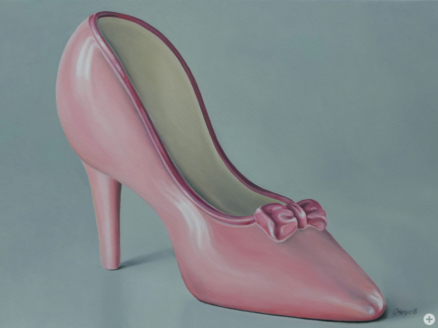 Cinderella, 2018, Ölfarbe auf Leinwand 60 x 80 cm