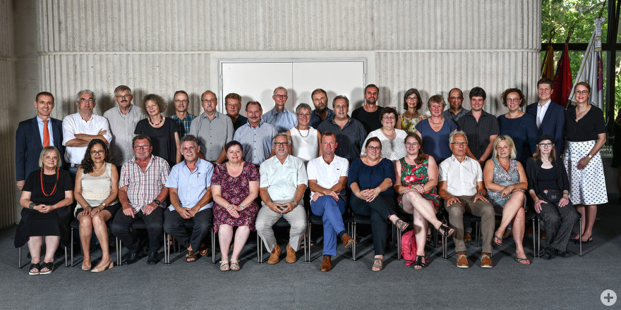 Die Mitglieder des Lörracher Gemeinderats 2014
