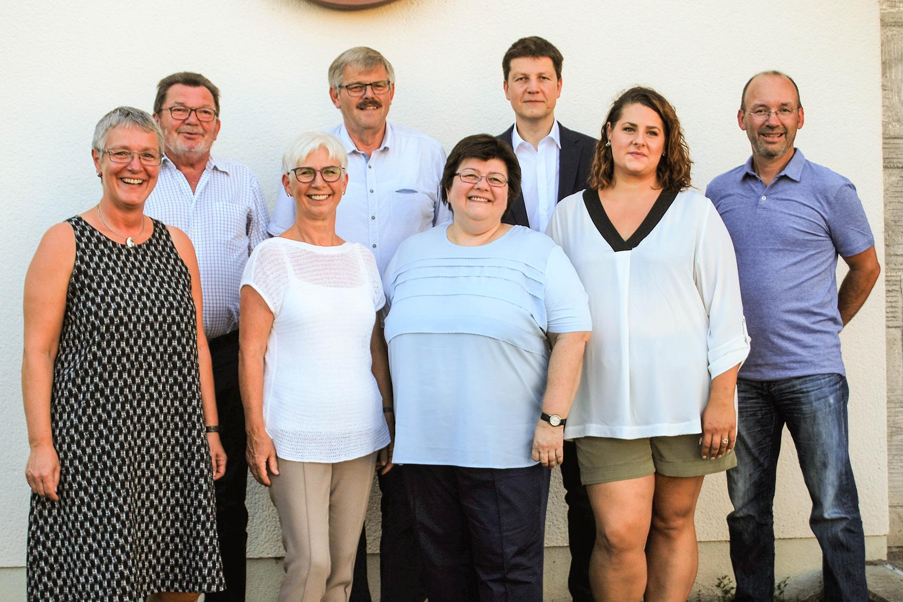 Mitglieder des Ortschaftsrats Haagen (2014)