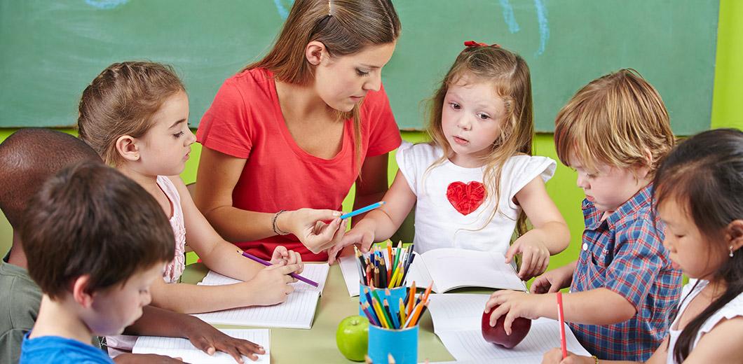 Kinderbetreuung in der Kita im Innocel-Quartier
