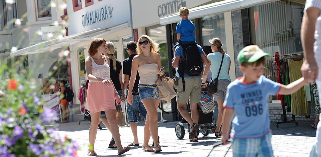 Shopping in Lörrach