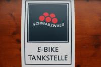 E-Bike-Ladestation von Schwarzwald Tourismus