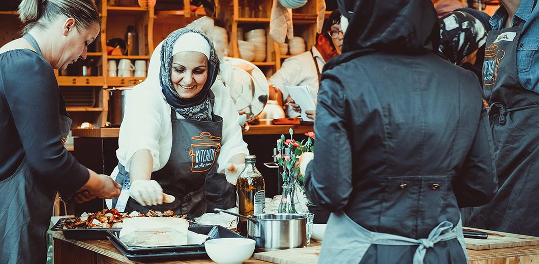 """Multikulturelles Kochprojekt """"Kitchen on the Run"""""""