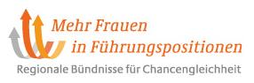 Frauen in Führungspositionen Logo