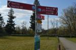 Lörrach teil des Dreiländerecks