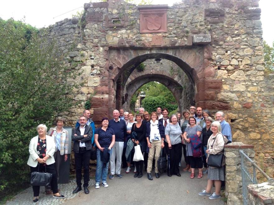 Die Kommissionsmitglieder bei einem Besuch der Burg Rötteln