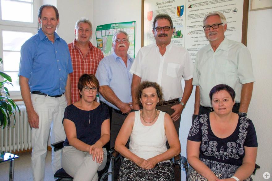 Mitglieder des Ortschaftsrats Hauingen (2019)