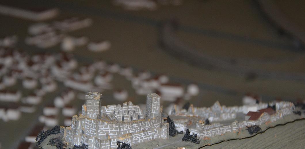 Stadtmodell Lörrach mit Burg Rötteln