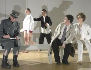 Schauspieler des freien Theaters Tempus fugit