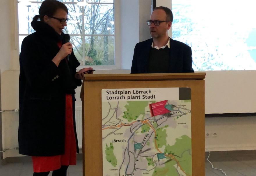 Vortragsreihe Stadtplan Lörrach