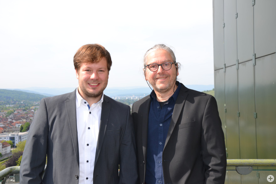 Alexander Nöltner und Gerd Haasis