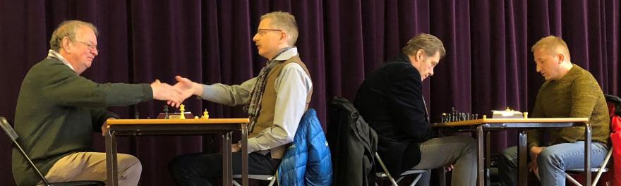 Schachclub Brombach beim Turnier in Chester