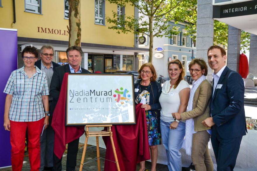 Einweihung Nadja Murad Zentrum