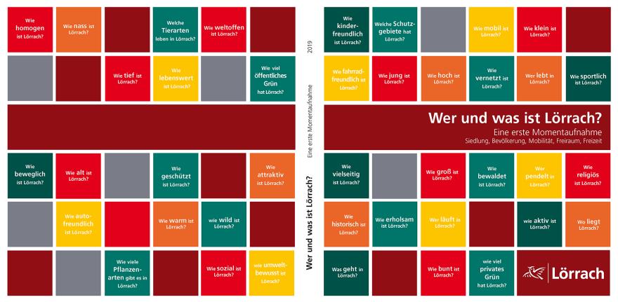 """Titelbild der Broschüre """"Wer und was ist Lörrach"""""""