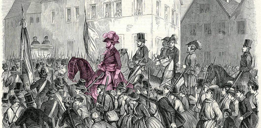 Zeichnung zum Tag der Demokratie
