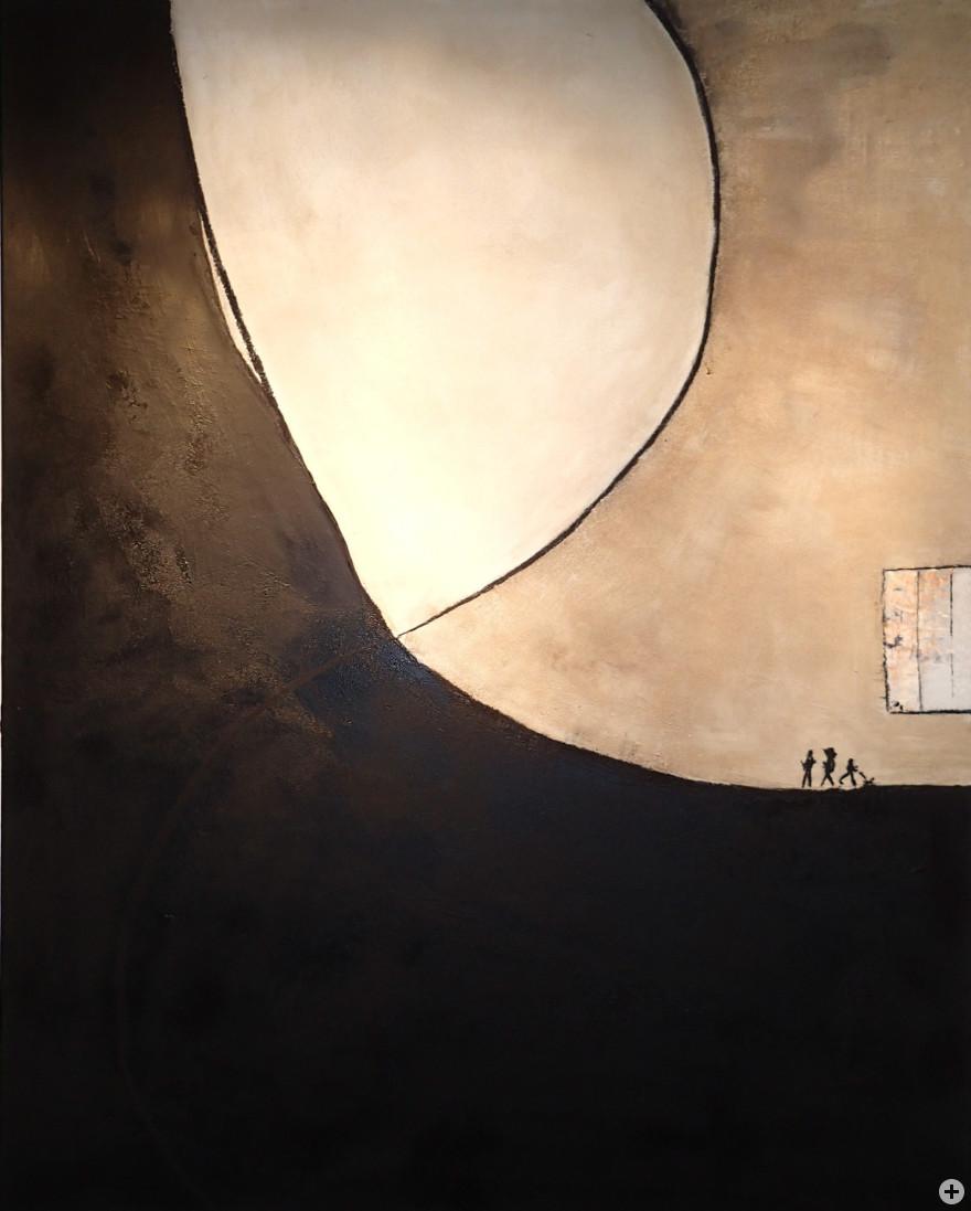 """Gemälde """"Als der Mond entschwand"""""""
