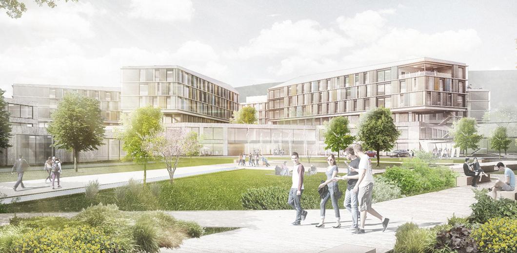 Campus Zentralklinikum (© a sh sander.hofrichter architekten GmbH)