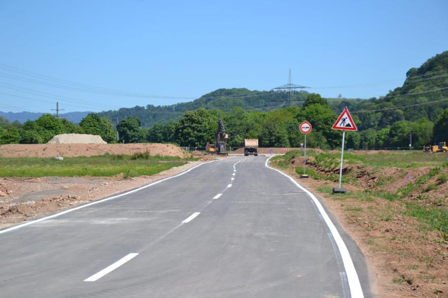 Provisorische Verkehrsführung L 138