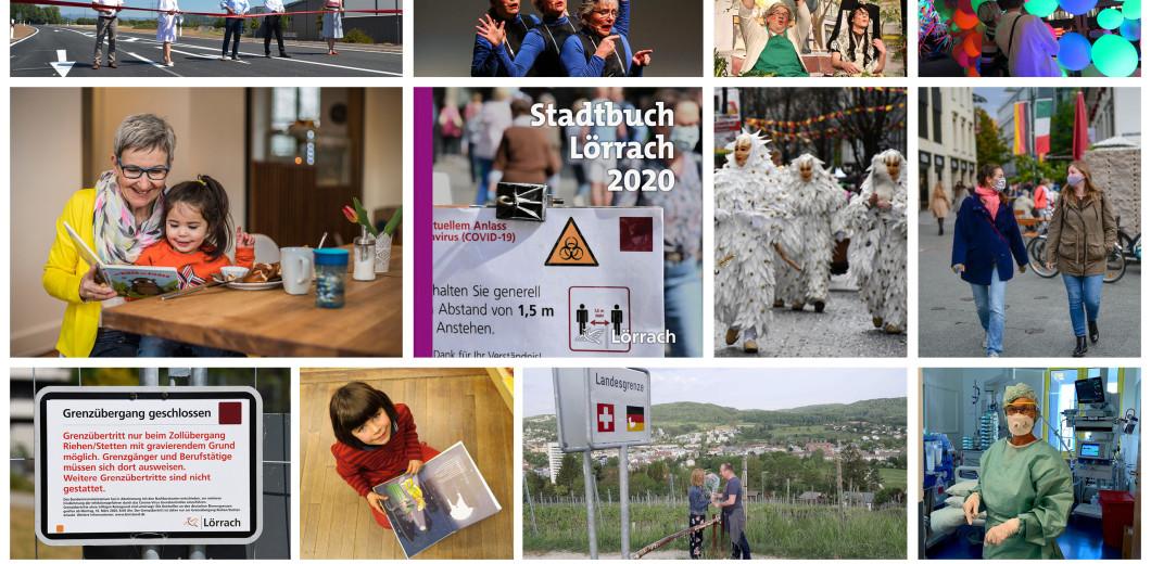 Impressionen Stadtbuch Lörrach 2020