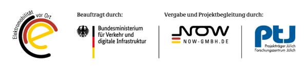 Logo Förderprogramm E-Mobilitätskonzept
