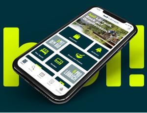 Smartphone mit hoi! Lörrach App