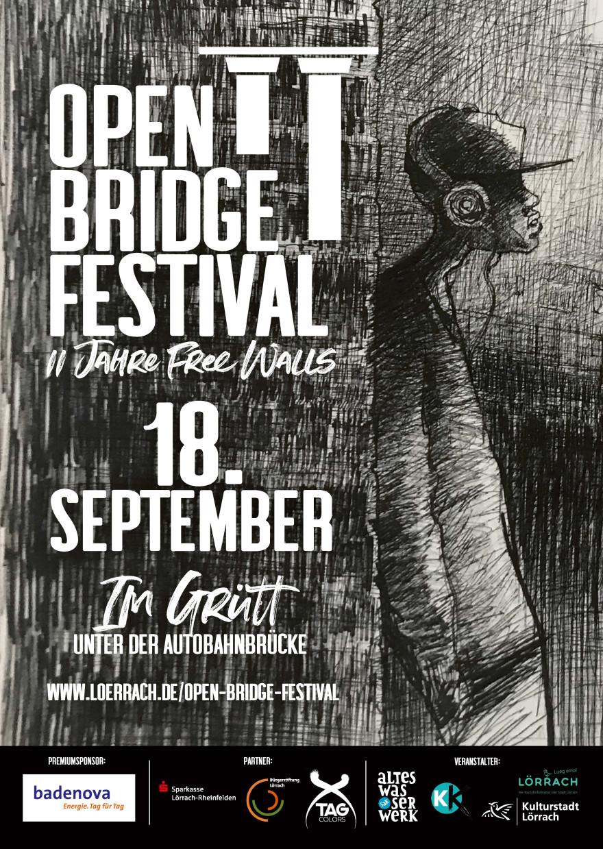 Plakat Open Bridge Festival
